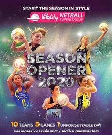 New Vitality Netball Superleague Season Opener details announced